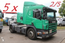 Scania P 114L-340 - MANUAL GRS-900 3+3 - A/C - SOILERS tractor unit