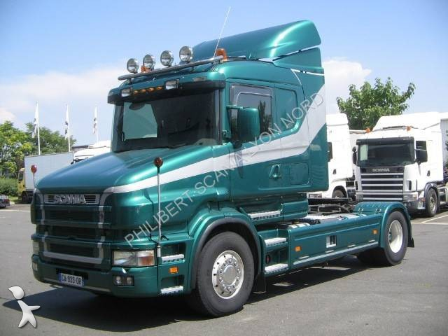 photos tracteur scania standard scania t144 occasion 864968. Black Bedroom Furniture Sets. Home Design Ideas