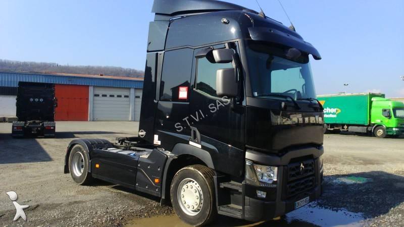 cabeza tractora renault est ndar gamme t 460 4x2 diesel euro 6 usada n 1607130. Black Bedroom Furniture Sets. Home Design Ideas