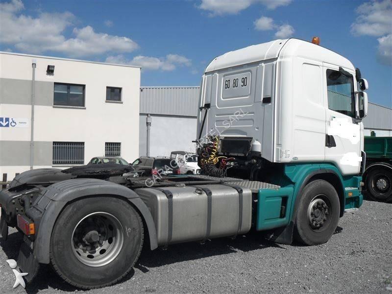 Tracteur scania standard r 124 la 470 4x2 gazoil euro 3 for Garage martel grigny