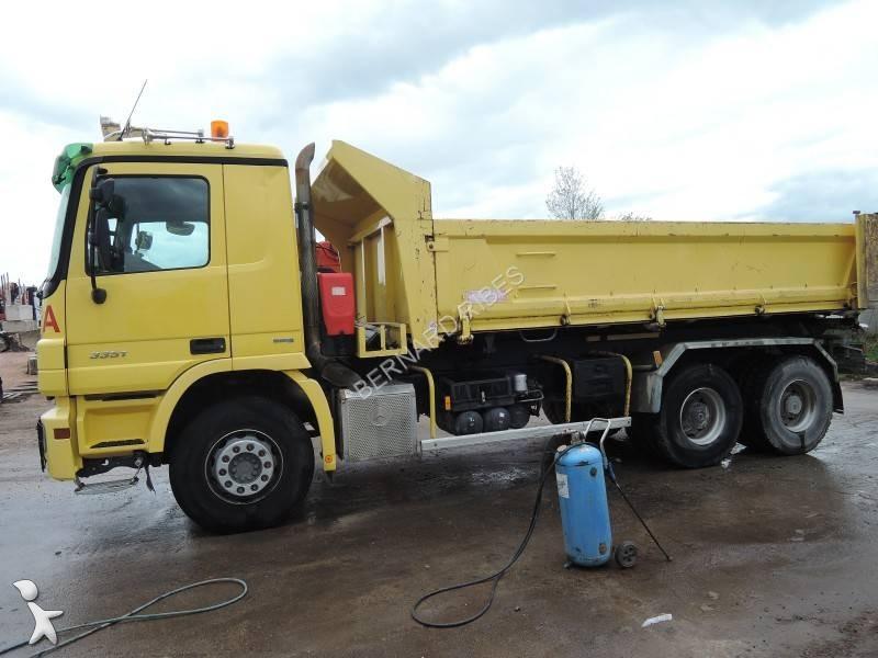 Camion occasion 12971 annonces achat vente de camions for Porte universelle benne
