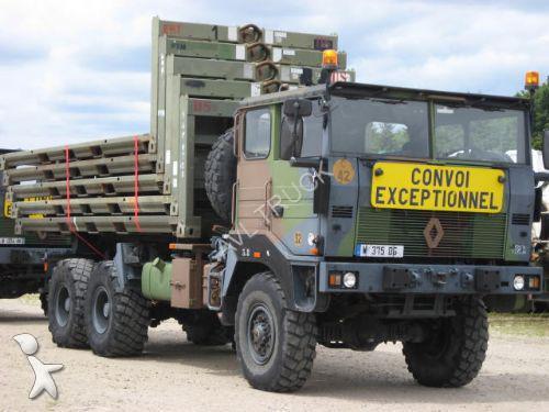 camion renault militaire trm 10 000 carrosserie special sur demande 6x6 gazoil euro 1 occasion. Black Bedroom Furniture Sets. Home Design Ideas