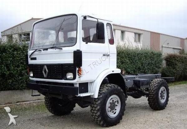 used renault chassis truck 85 130 4x4 diesel euro 1 n 1016000. Black Bedroom Furniture Sets. Home Design Ideas