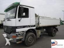 camion benă trilaterala Mercedes second-hand
