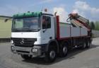 camion platformă standard Mercedes second-hand