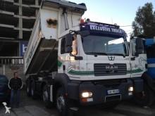 camion ribaltabile trilaterale MAN usato