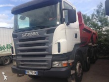 camion benă transport piatra Scania second-hand