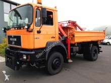 used MAN tipper truck