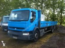 camion plateau porte fer Renault occasion
