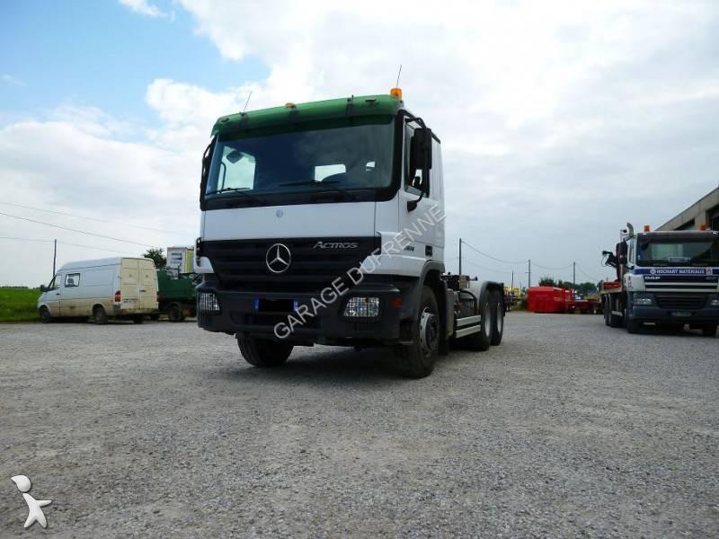 Camion mercedes polybenne ampliroll actros 2636 6x4 gazoil euro 3 occasion n 1064881 - Garage mercedes nord pas de calais ...