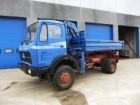 camion Mercedes 1626 4x4 ATLAS Kraan