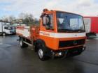 Mercedes 814 / 914 Pritsche KRAN MEILLER MK 51R-4 truck