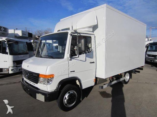 camion mercedes fourgon vario 816 d koffer 4 10 m lbw 750 kg nl 3 3 t gazoil euro 4 hayon. Black Bedroom Furniture Sets. Home Design Ideas
