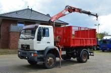 camión MAN 14.224 4x4 / Fassi Kran
