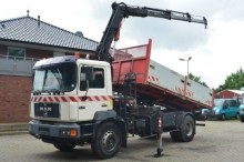 camion MAN 19.343 4X2 Kipper + Kran Atlas 1