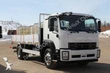 new Isuzu dropside flatbed tarp truck