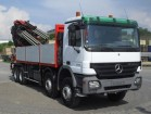 used Mercedes standard flatbed truck
