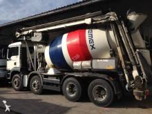 camion betoniera cu malaxor si pompa MAN second-hand