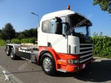 used Scania hook lift truck