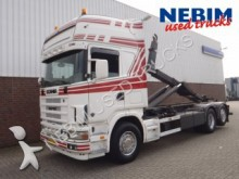 camion Scania R 164 G 480 6X2 manual geabox/containe system
