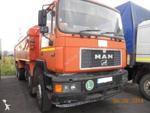 camion benă transport piatra MAN second-hand