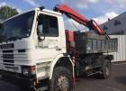 Scania 250 - 4x4 - Benne / Grue truck