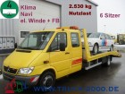 camion Mercedes Sprinter 616 CDI 6-Sitze + Klima + Winde mit FB