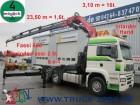 camion MAN TGA 26.480 Kran Fassi600 16t.=2.85m+Seilwinde*FB