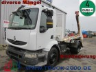 camion multibenna Renault incidentato