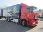 camion Mercedes Axor 2543 L FHS lang Getränkekoffer 7,35m Staple