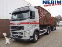 camión Volvo FH13 440 6x2R Euro 5 Hooklift + Trailer + 2 cont