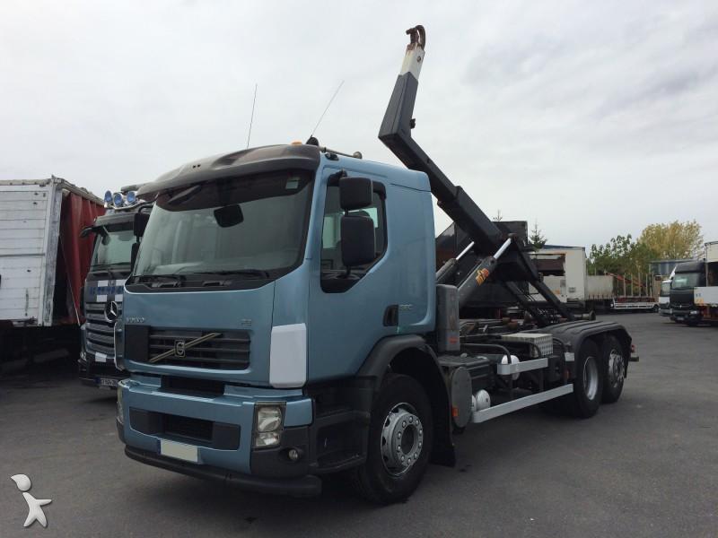 camion volvo polybenne ampliroll fe 320 6x2 gazoil euro 4. Black Bedroom Furniture Sets. Home Design Ideas