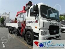camion Hyundai HD 250 с КМУ Horyong HRS206