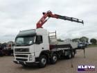camión Volvo FM 12.420 8X2 HMF 2500 4X HYDR