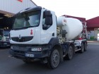 camion betoniera cu rotor/ Malaxor Renault second-hand