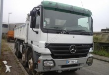 used Mercedes two-way side tipper truck