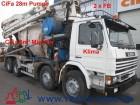 gebrauchter Scania LKW Betonauflieger Kreisel / Mischer