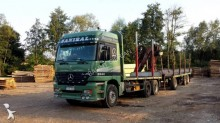 camion transport buşteni Mercedes second-hand