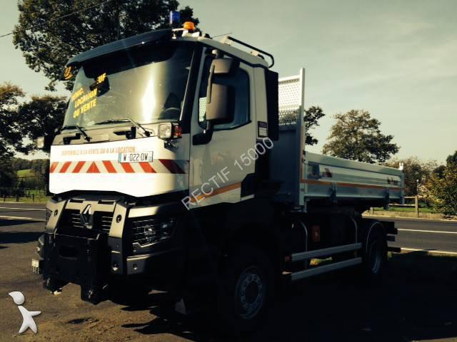 camion renault bi benne gamme k 380 4x4 gazoil euro 6 neuf n 1140281. Black Bedroom Furniture Sets. Home Design Ideas