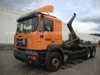 Iveco Trakker AD260T45P Hakenabroller/Kran 6x4 truck