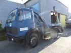 camion Mercedes 1619 4X4 MET KRAAN