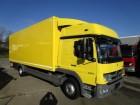 camion Mercedes Atego III 1224 L Schlafkabine Koffer 7,30 m LBW