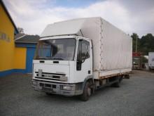 Iveco 75 E 14 Plane-Spriegel truck
