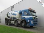 vrachtwagen Volvo FM12.420 8X4 MANUEL MIXER WITH INTERMIX 10M3 EUR