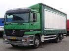 used Mercedes tarp truck