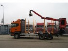 camion Scania R 480 6X4 FO LOG TANSPOT WITH JONSEED 1020 C