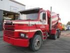 used Scania concrete truck