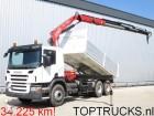 Scania P380 6X4 CRANE+TIPPER 34.225 KM !!! truck