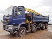 camión volquete DAF usado
