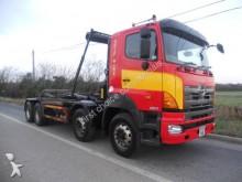 camión Hino 3241 8X4 HOOK LOADER